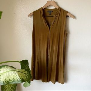 Eileen Fisher   Jersey Button Front Tank